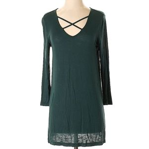Old Navy Casual Long Sleeved Mini Dress